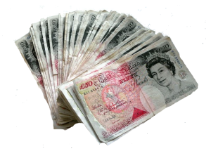 50 Pound Notes The Reward of Greyhound Tips